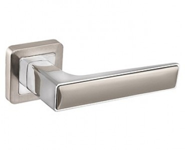 Ручка раздельная DENVER XM SN/CP-3 матовый никель/хром