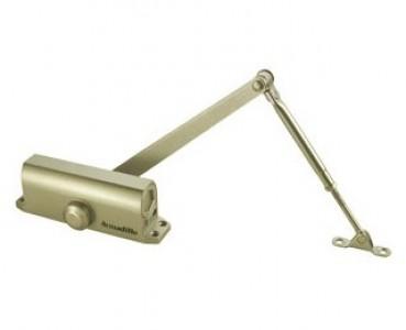 Доводчик дверной морозостойкий LY2 65 кг (золото)