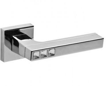 Ручка раздельная CRYSTAL FLASH DM CP-8 хром