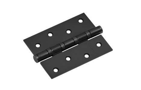 Петля дверная 4 AL6-F черный матовый, универсальная