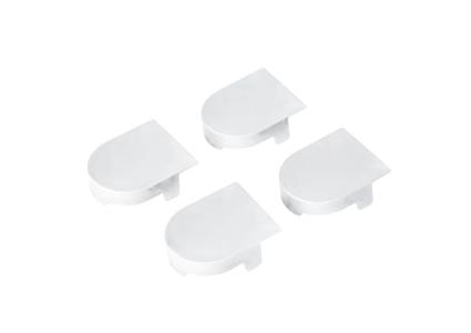 Накладка на скрытую петлю ECLIPSE 2.0 (белый), материал- полимер