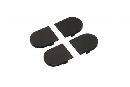 Накладка на скрытую петлю ECLIPSE 2.0 (черный), материал- полимер