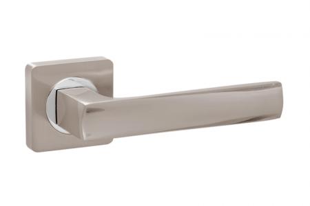 Ручки дверные PRO-ZQ Sorrento  SN/CP матовый никель/хром
