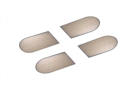 Накладка на  скрытую петлю ECLIPSE 3.2 (бронза), материал - полимер