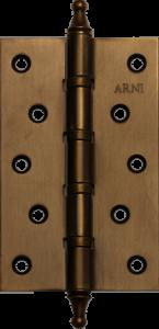 Дверная Петля врезная универсальная с короной Arni 125*75*2.5C MAB