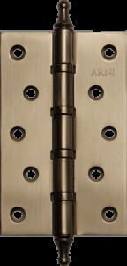 Дверная Петля врезная универсальная с короной Arni 125*75*2.5C SN
