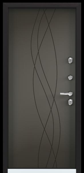 Torex SNEGIR 20 MP Черный муар металлик / Молочный шоколад (арт. ПВХ молочный шоколад)