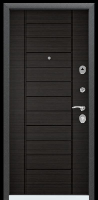 Torex DELTA-112 Черный шелк / Венге поперечное (арт. ПВХ Венге поперечное)