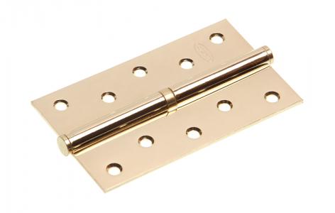 Петля дверная 5 PB-L золото, левая