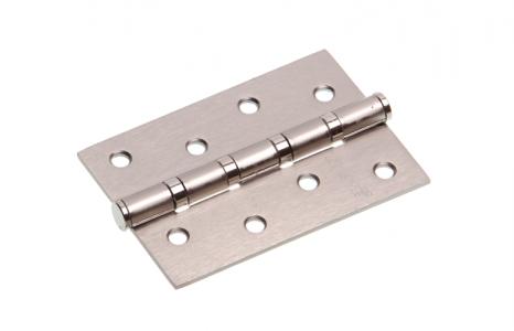 Петля дверная PRO-4 SN-F матовый никель, универсальная