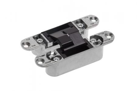 Петля скрытая ECLIPSE 3.0 (черный), материал - сплав цветных металлов