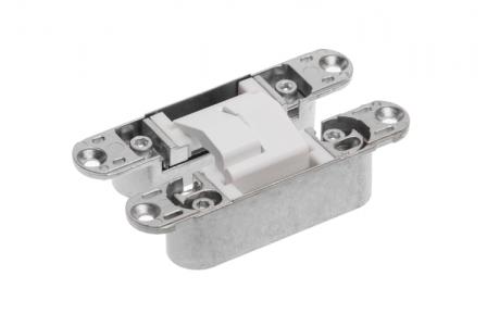 Петля скрытая ECLIPSE 3.0 (белый), материал - сплав цветных металлов