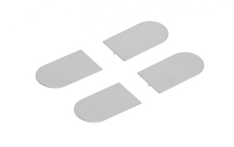 Накладка на  скрытую петлю ECLIPSE 3.0 (матовый хром), материал - полимер