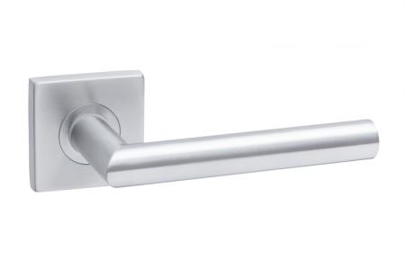Ручки дверные SQ INOX1, материал- нержавеющая сталь