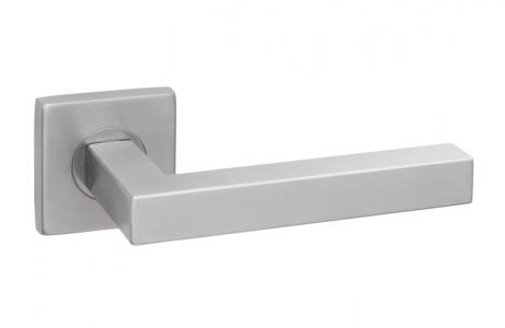 Ручки дверные SQ INOX6, материал- нержавеющая сталь