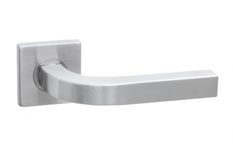 Ручки дверные SQ INOX7, материал- нержавеющая сталь