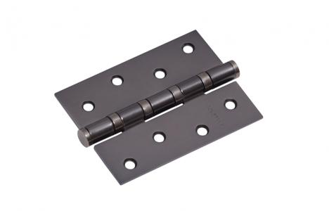 Петля дверная 4 BBN-F черный матовый никель, универсальная