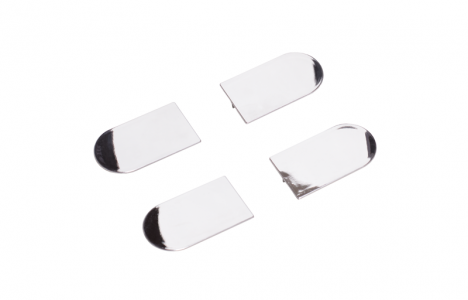 Накладка на скрытую петлю ECLIPSE 3.2 (хром), материал- полимер