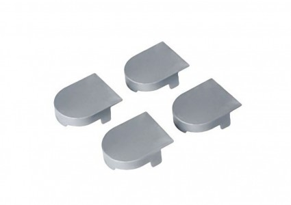Накладка на  скрытую петлю ECLIPSE 2.0 (матовый хром), материал - полимер