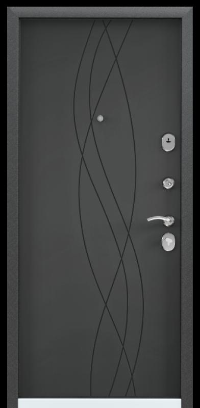 Torex DELTA-100 Черный шелк / Темный-пепел (арт. ПВХ Темный-пепел)