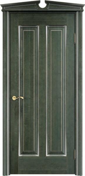 ОЛ102 Зеленый, патина, серебро микрано
