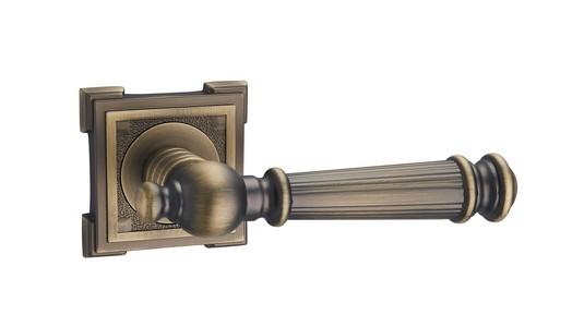 Ручка дверная Амарант MAB (матовая бронза)