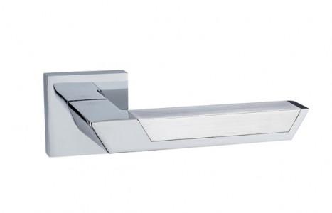Ручка дверная Атриум PC SC ( полир хром/хром )