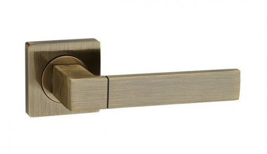 Ручка дверная Камилла AB (бронза)