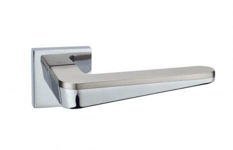 Ручка дверная Капелла SN/PC (мат никель/хром)