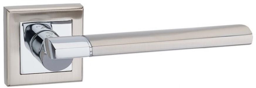 Ручка дверная Капри SN/CP (мат никель/хром)