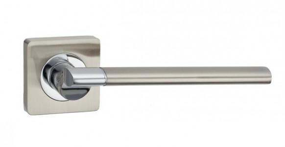 Ручка дверная Капри SN/CP( мат никель/хром)