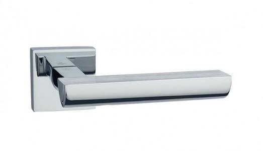 Ручка дверная Каскад SC/CP (мат хром/хром)