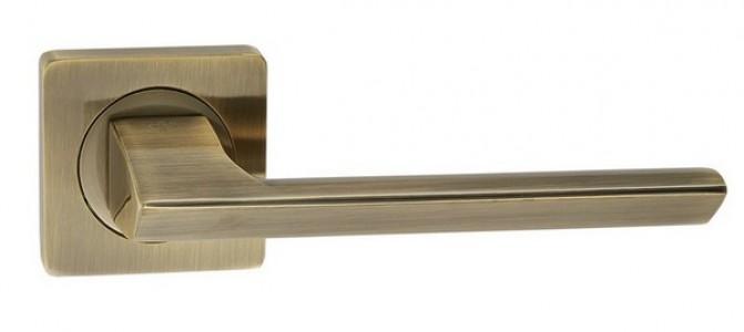 Ручка дверная Модерн AB (бронза)