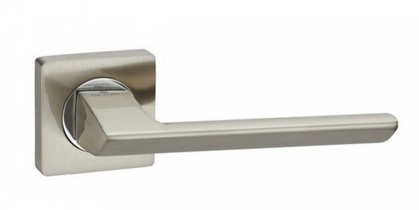Ручка дверная Модерн SN/CP (мат ник/хром)