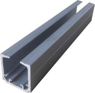 Верхняя направляющая для раздвижных дверей с доводчиком 2-3м