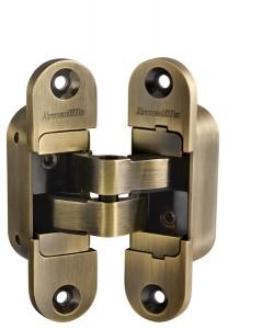 Дверная Петля скрытой установки с 3D-регулировкой Architect 3D-ACH 40 AB Бронза прав. 40 кг