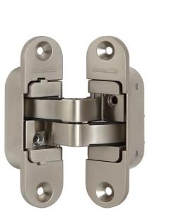 Дверная Петля скрытой установки с 3D-регулировкой Architect 3D-ACH 40 SN Матовый никель лев. 40 кг