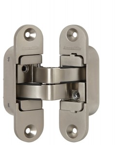 Дверная Петля скрытой установки с 3D-регулировкой Architect 3D-ACH 40 SN Матовый никель прав. 40 кг
