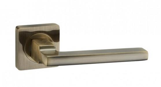 Ручка дверная Салерно AB (бронза)