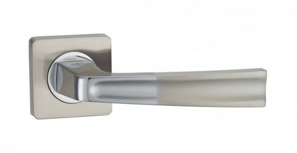 Ручка дверная Тренто SN/CP (мат никель)