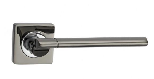 Ручка дверная Капри BN/CP (черный никель/хром)